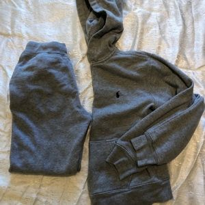 Ralph Lauren warm pants hoodie set